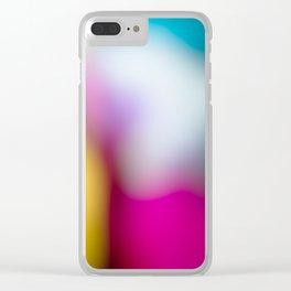 Bunter Traum Clear iPhone Case