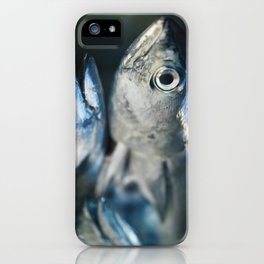 Tuna fish - still life - fine art - photo - print, high quality,macro, interior design, wall decor iPhone Case