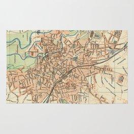 Vintage Map of Hanover Germany (1895) Rug