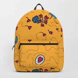 I wish you love, happiness and beauty (gold) Backpack
