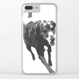 Bodie Girl (the Lab) Clear iPhone Case
