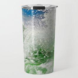 The Green Splash Travel Mug