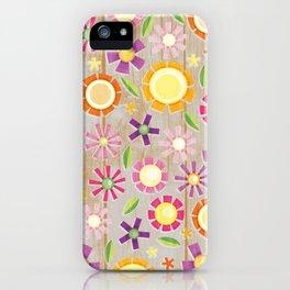 Camp Floral iPhone Case