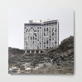 Misplaced Series - Standard Hotel Metal Print