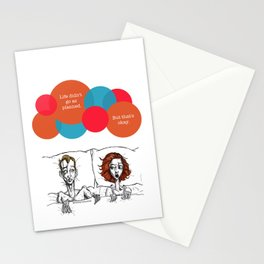 Life didn't go as planned. Stationery Cards