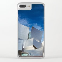 Los Angeles Concert Hall (Frank Gehry Architecture) Clear iPhone Case