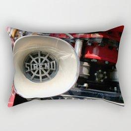 Old Fire Truck Rectangular Pillow
