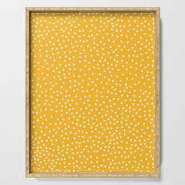 YELLOW DOTS Serving Tray