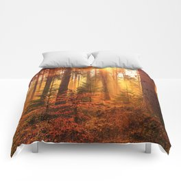 The Golden Hour (Color) Comforters