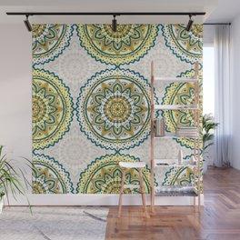 Vintage mandala pattern Wall Mural