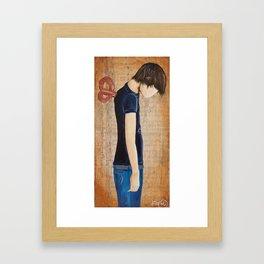 Careless Lazy Lover 2 Framed Art Print