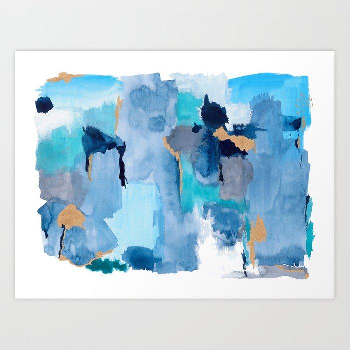 Summer Sky Abstract Kunstdrucke