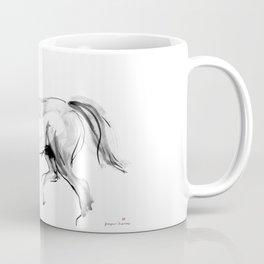 Horse (dressage) Coffee Mug