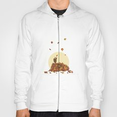 Autumn Hedgehogs Hoody
