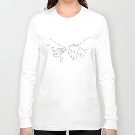 Pinky Swear Long Sleeve T-shirt
