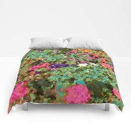 Crystal Flowers Comforters