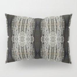 Oak Tree Bark Vertical Pattern by Debra Cortese Designs Pillow Sham