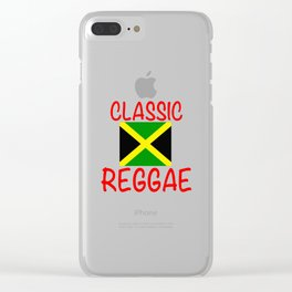CLASSIC REGGAE Clear iPhone Case