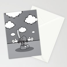 Mister hatchet's a little careless Stationery Cards