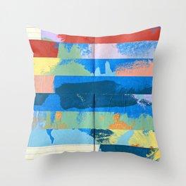Tape Diary 12 Throw Pillow