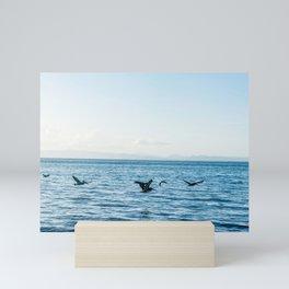 Flying Flock Mini Art Print
