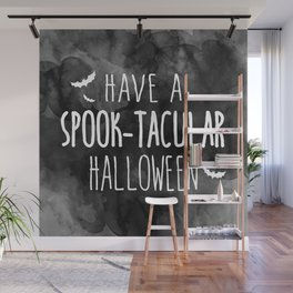 Have A Spook-Tacular Halloween Wall Mural