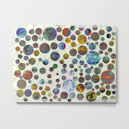 million foreign planets Metal Print