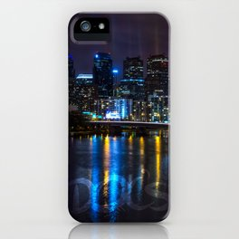 Philly Skyline Glowing iPhone Case