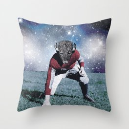 BullFighter with the stars Throw Pillow