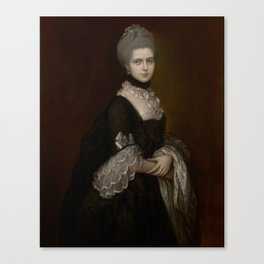 HRH THE DUCHESS OF GLOUCESTER MARY WALPOLE, DOWAGER COUNTESS WALDEGRAVE Canvas Print
