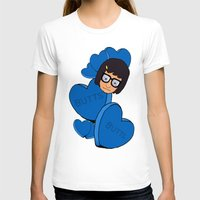 tina T-shirts featuring Tina Belcher  by Moremeknow