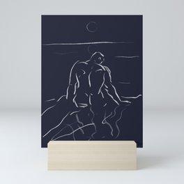 Man of the sea Mini Art Print
