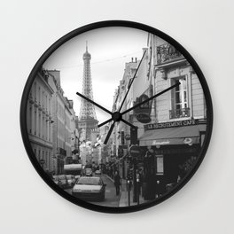 Rue St Dominique Wall Clock
