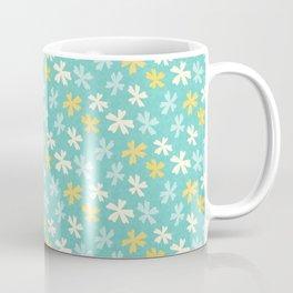 Hana Thyme - Yellow And Teal Coffee Mug