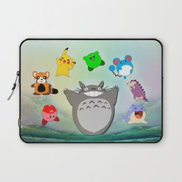 Video game Anime Character Rainbow Laptop Sleeve