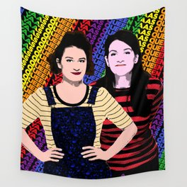 "TV Queens - Broad City ""Yaas Queen"" Wall Tapestry"