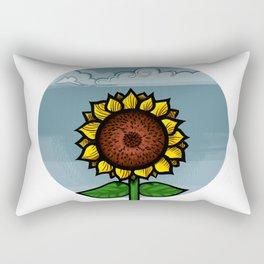 kitschy sunflower Rectangular Pillow