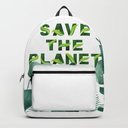 Save the Planet Backpack