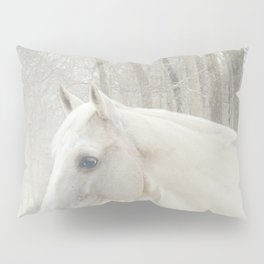 Domino in the snow Pillow Sham
