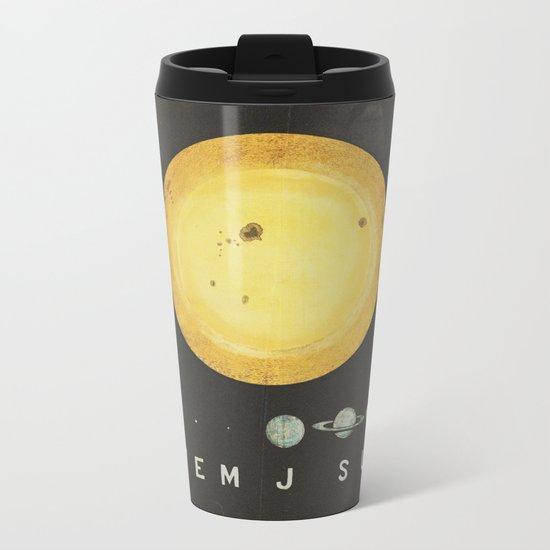 Planetary Arrangement Metal Travel Mug