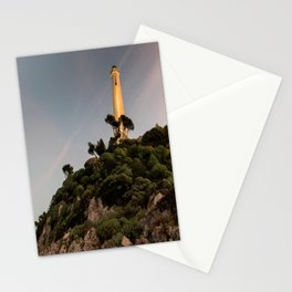 Sunset at the Phare Stationery Cards