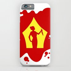 Psycho  |  Blood Spatter Window Silhouette  |  Alfred Hitchcock Slim Case iPhone 6s