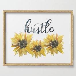 Sunflower Hustle Serving Tray