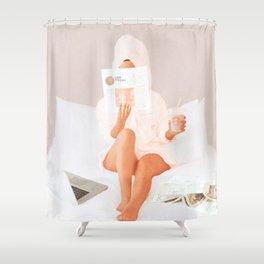 Weekend Morning II Shower Curtain
