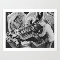 desire machine Art Print