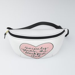 sincerely yours Fanny Pack