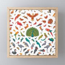 Aerial Spectrum : pattern Framed Mini Art Print