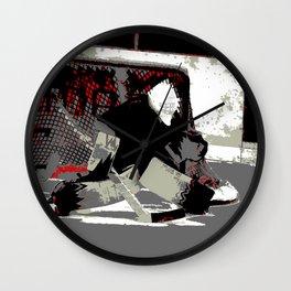 Goal Stopper - Ice Hockey Goalie Wall Clock