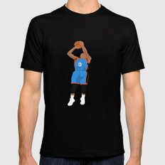 Thunder Up LARGE Black Mens Fitted Tee