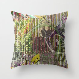 A Strict Code for Mourning Flowers (1) Throw Pillow